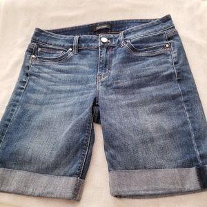 White House Black Marker Denim Shorts